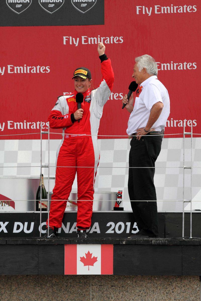 Valérie Chiasson  décroche un podium au circuit Gilles-Villeneuve!