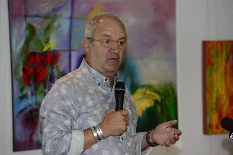 L'humoriste Michel Barrette est le porte-parole de la 13e édition du Parcours des arts