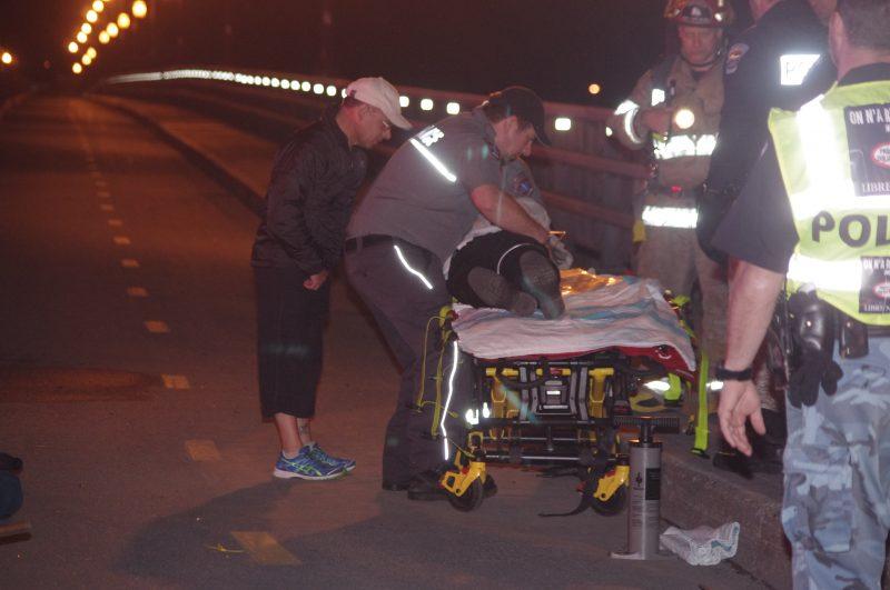 Un homme de 85 a perdu le contrôle de son véhicule sur pont Jordi Bonet, dimanche le 10 mai 2015