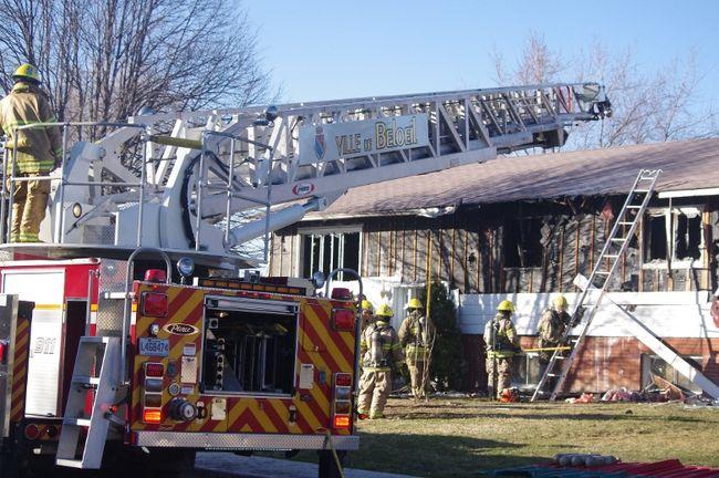 Six personnes se retrouvent sans domicile à la suite d'un incendie.