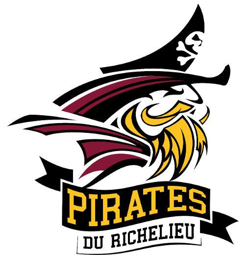 Le nouveau logo des Pirates du Richelieu.