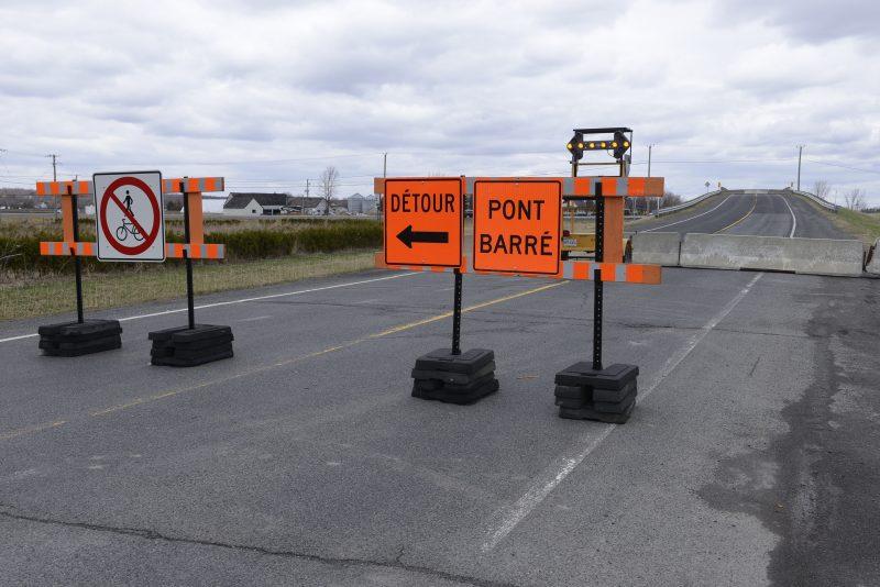 Le viaduc chemin du Ruisseau nord, à Saint-Mathieu-de-Belœil, sera démoli dans les prochains mois.