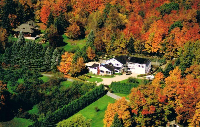 Coup d'œil sur les maisons les plus luxueuses de la Vallée