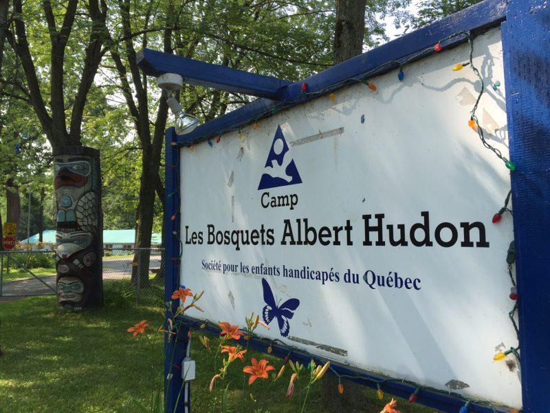 La colonie des Bosquets Albert-Hudon, à Otterburn Park.