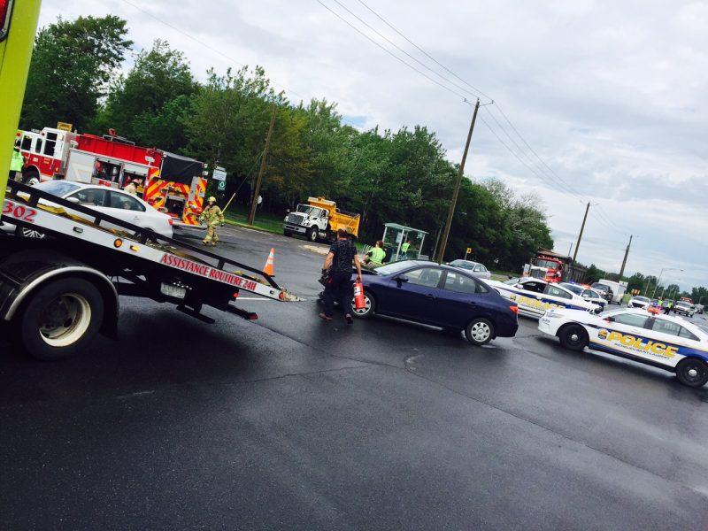 L'accident est survenu au coin du Boulevard Sir-Wilfrid-Laurier et de la rue Boisé.