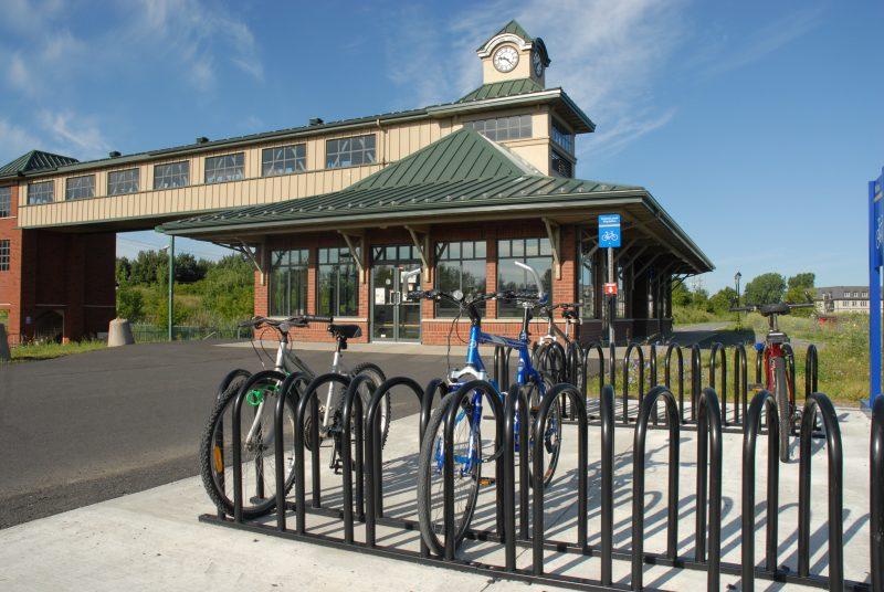Deuxième arrêt: la Gare de Mont-Saint-Hilaire