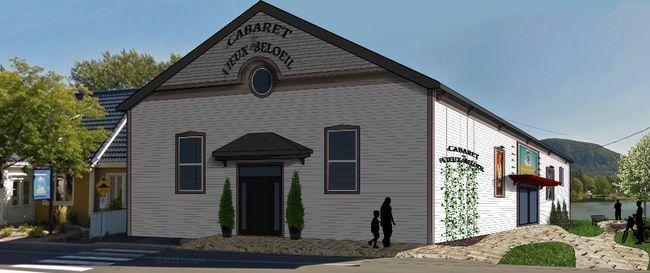 Le projet que caresse la Coopérative culturelle est de rénover le bâtiment et d'aménager un espace public.