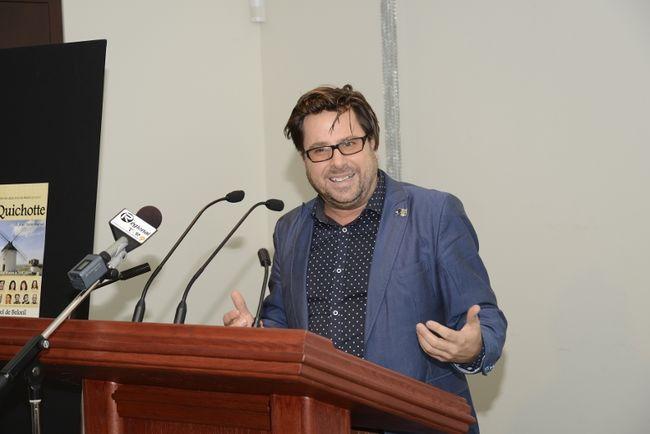 Le comédien Stéphane E. Roy