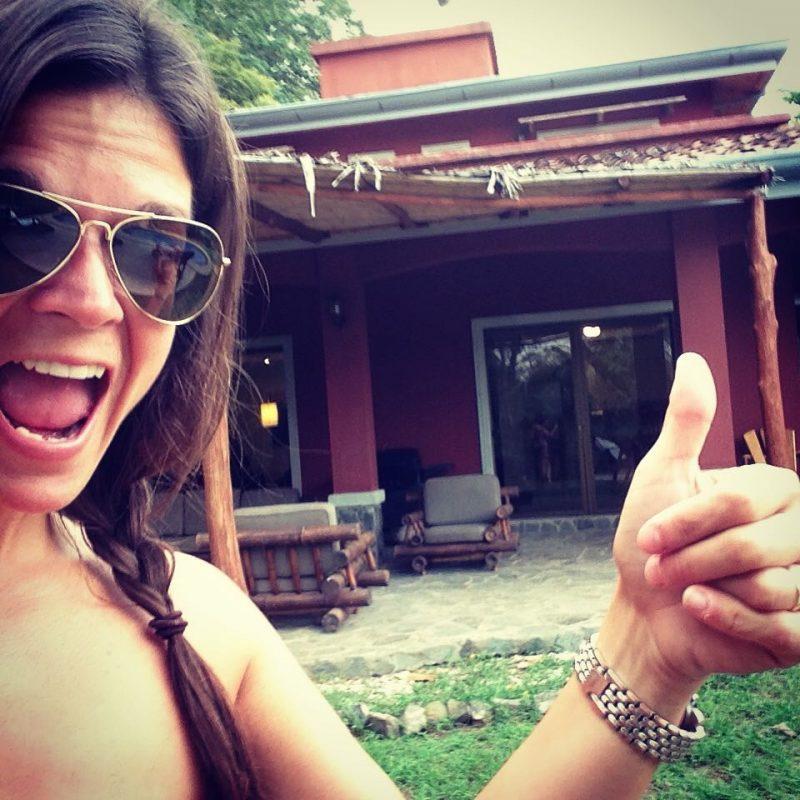 Marilyn Veillette lors de sa première journée au Costa Rica