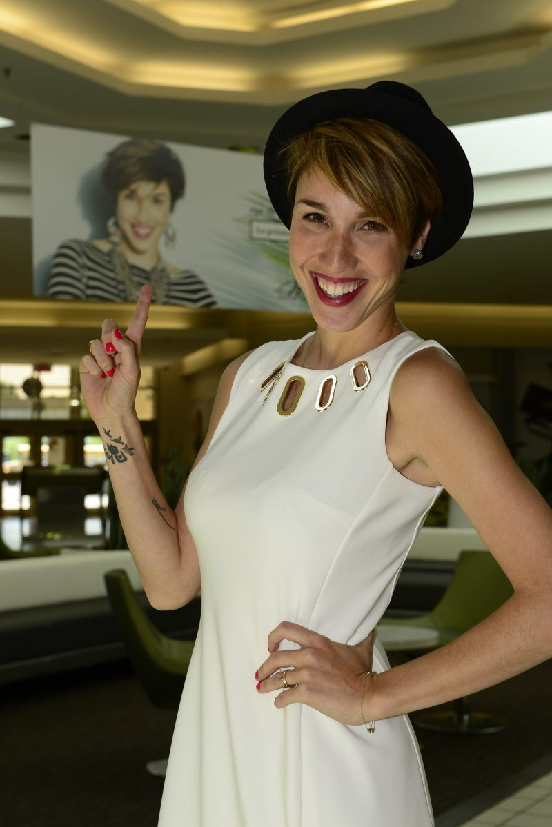 La comédienne Bianca Gervais porte depuis mars le titre d'ambassadrice du Mail Montenach