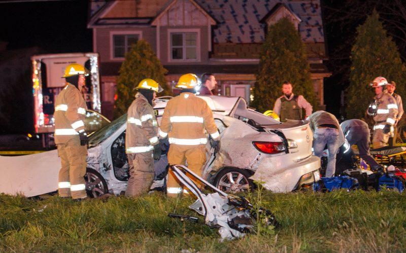 Violente collision sur la 116.