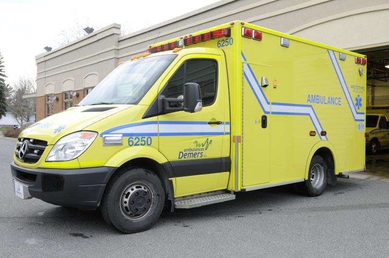 La Caisse de dépôt et placement du Québec investit dans Demers Ambulances., à Beloeil.