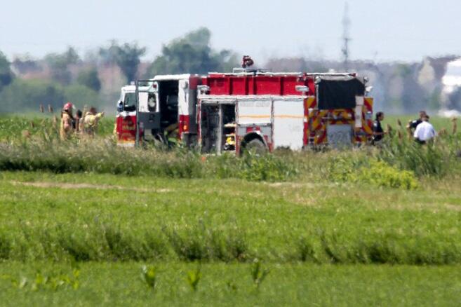 L'appareil se serait écrasé peu après le décollage.