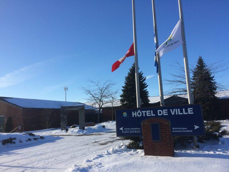 Hôtel de ville de Mont-Saint-Hilaire.