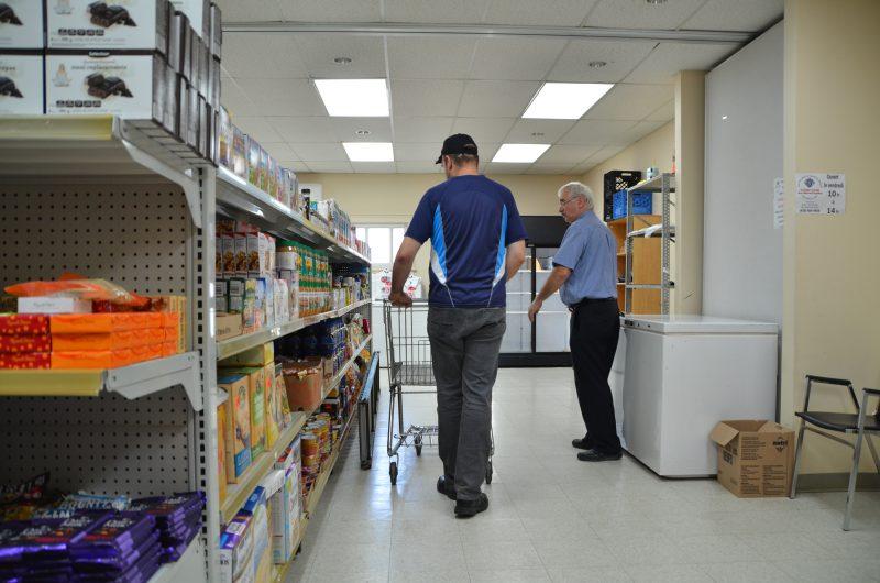 Plus de demandes d'aide alimentaires