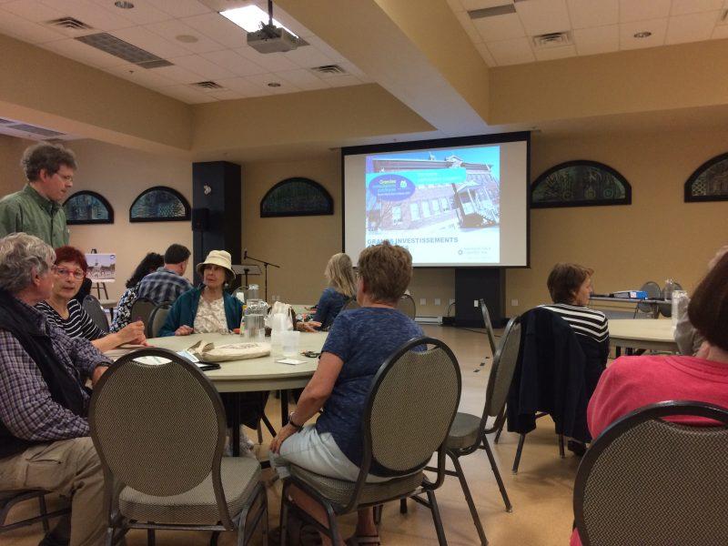 61 citoyens ont participé à la rencontre du 15 juin.