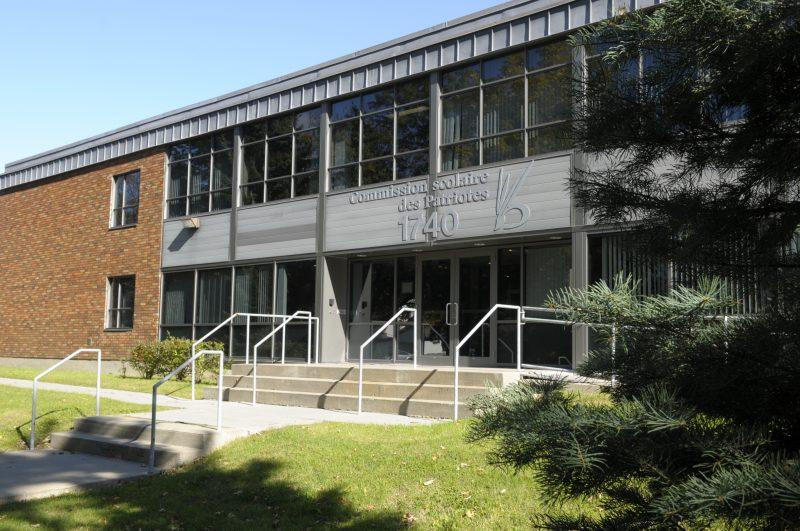 Les bureaux de la Commission scolaire des Patriotes.