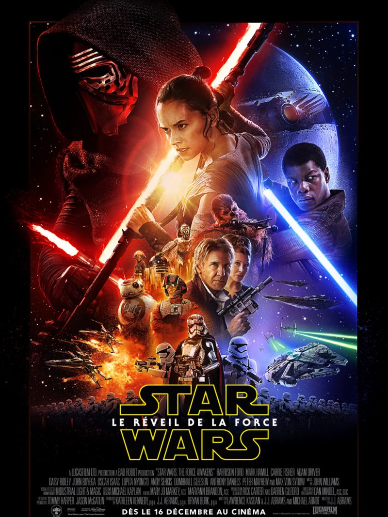Affiche du nouveau Star Wars.