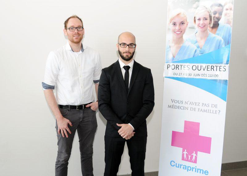 Les principaux actionnaires de CuraPrime, Pierre-Olivier Bachant-Winner et Maxime Bernier.