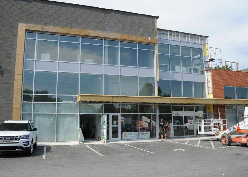 Le Carrefour Rouville-Laurier.