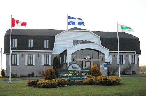 Hôtel de ville de Saint-Mathieu-de-Beloeil.