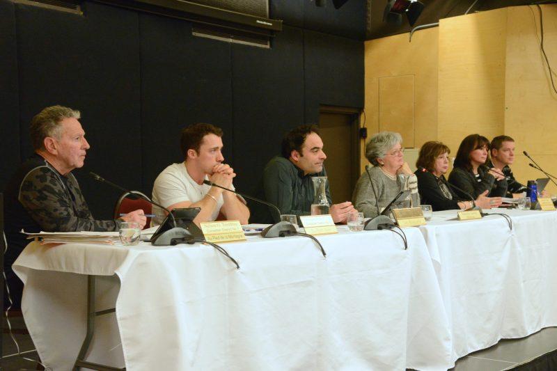 Les conseillers Luc Lamoureux et Sophie Bourassa ont voté contre l'embauche du nouveau directeur du Service des travaux publics.