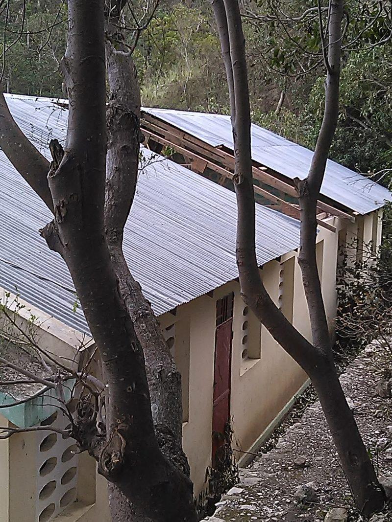 L'ouragan Matthew a endommagé une école près de Grand-Goâve