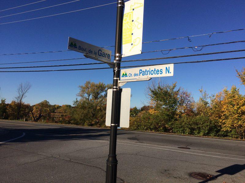 La municipalité veut notamment installer un feu de circulation à l'intersection du chemin des Patriotes et du boulevard de la Gare.