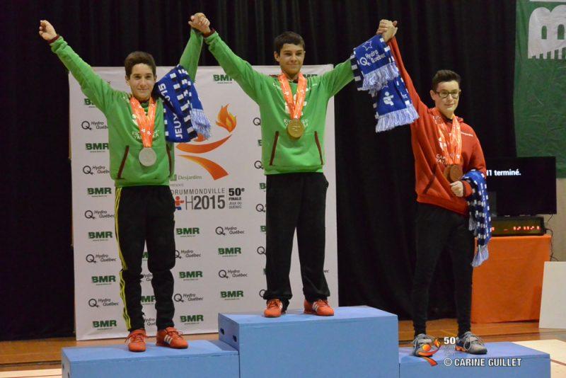 Maxime Desjourdy (gauche) est monté sur le podium aux Jeux en 2015.