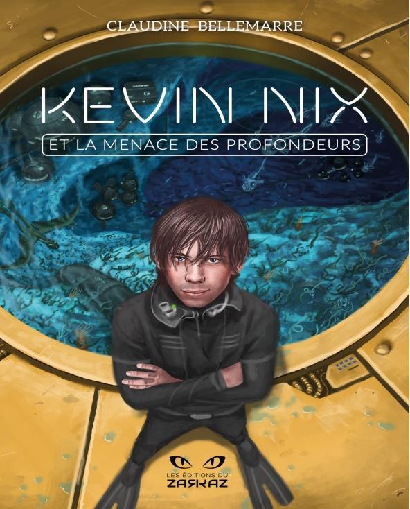 L'auteure est déjà en train d'écrire le troisième volet de la série Kevin Nix.