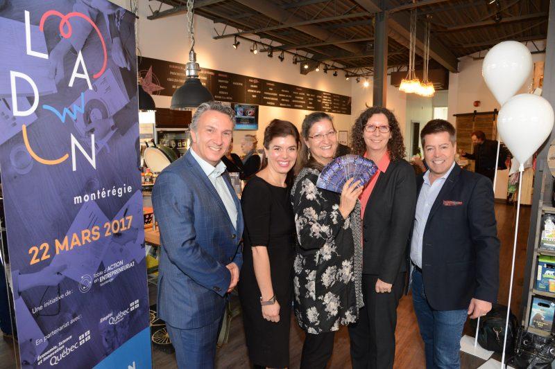 Le dévoilement des finalistes aura lieu le 24 janvier 2017. L'événement «LADN Montérégie», édition 2017, qui couronnera les entrepreneurs gagnants, aura lieu le 22 mars 2017 à l'Espace Rive‐Sud, à La Prairie.