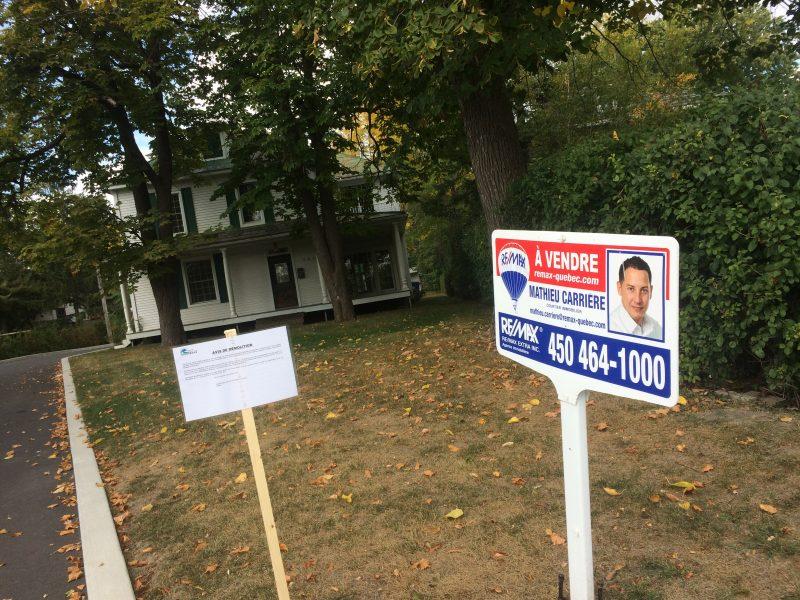 Le promoteur des Condominiums Le Laurier souhaite démolir la maison Eugène-Desnoyers, située 504, rue Richelieu.