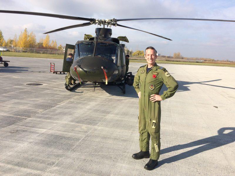 Martin Pesant compte plus de 2800 heures de vol sur sept types d'appareils.