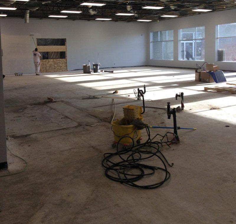 Les travaux sont actuellement en cours en vue d'une ouverture le 1er décembre.
