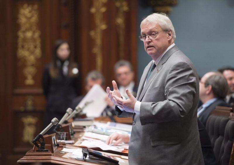 Le ministre de la Santé, Gaétan Barrette.