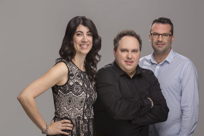 Valérie Bourgeois, Guillaume Bélanger et Martin Fontaine espèrent faire la différence au Théâtre des Hirondelles.