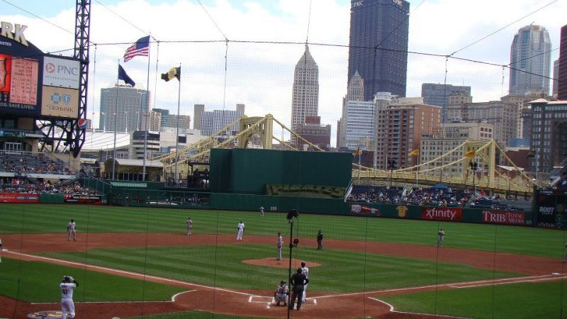 Photo du PNC Park de Pittsburgh.