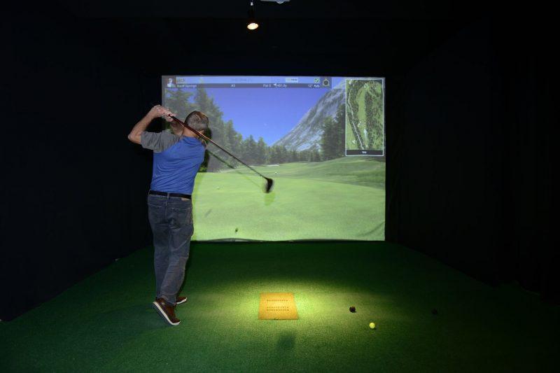 Le Continental Golf Virtuel a tenu récemment une journée portes  ouvertes.