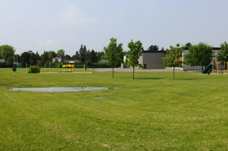 L'école Mountainview d'Otterburn Park fait partie de la liste des écoles situées sur des terrains contaminés.