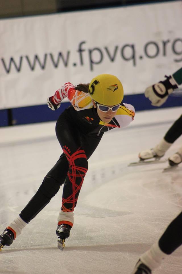 Éliane Martin aux Jeux du Québec.