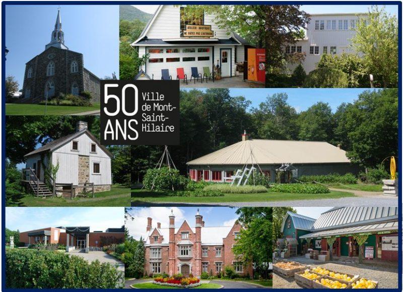 La balade propose huit attraits de Mont-Saint-Hilaire.