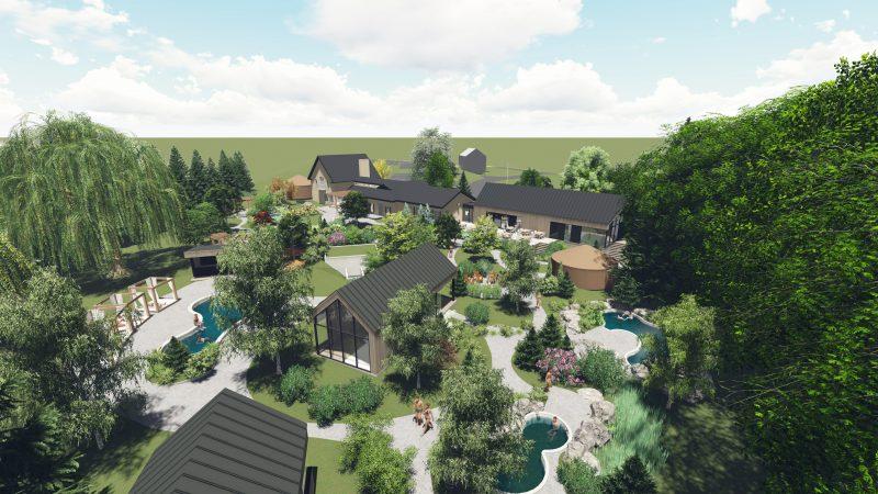 Deux nouveaux pavillons seront construits sur le site du Strøm Spa Nordique de Mont-Saint-Hilaire.