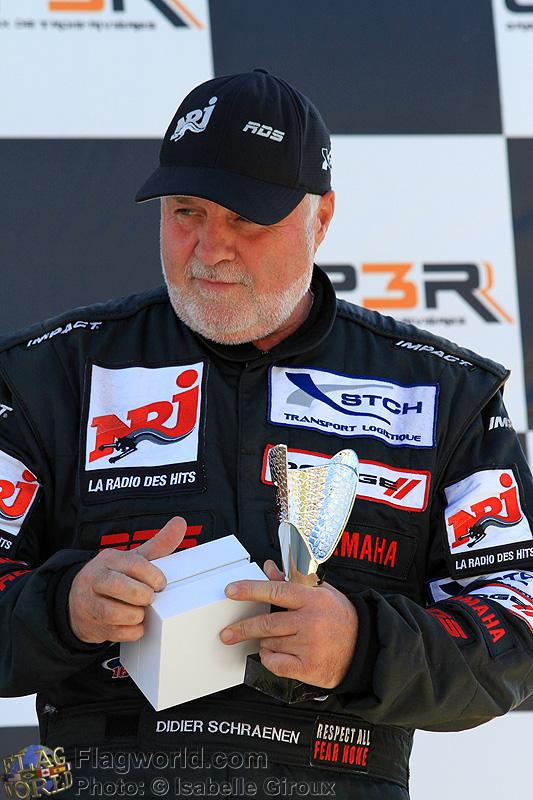 Un 15e podium au GP3R pour Didier Schraenen