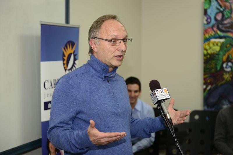 Le directeur général d'Intégration Compétences, Daniel Vermeersch.