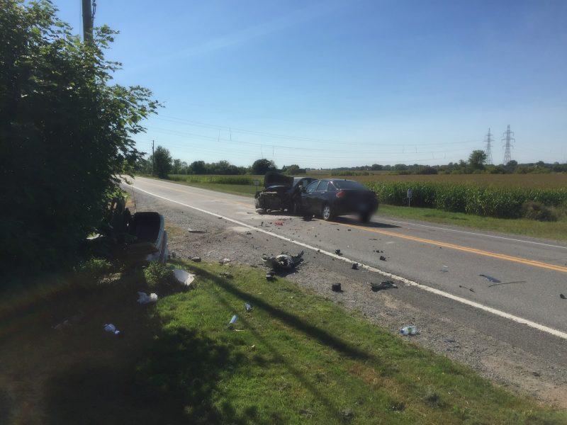 Un motocycliste a été fauché cet après-midi sur la route 227 à Saint-Jean-Baptiste.