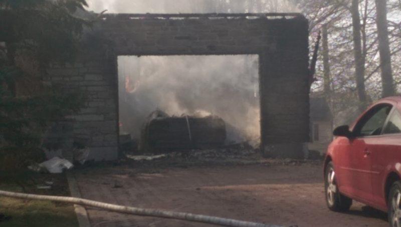 Incendie à Otterburn Park