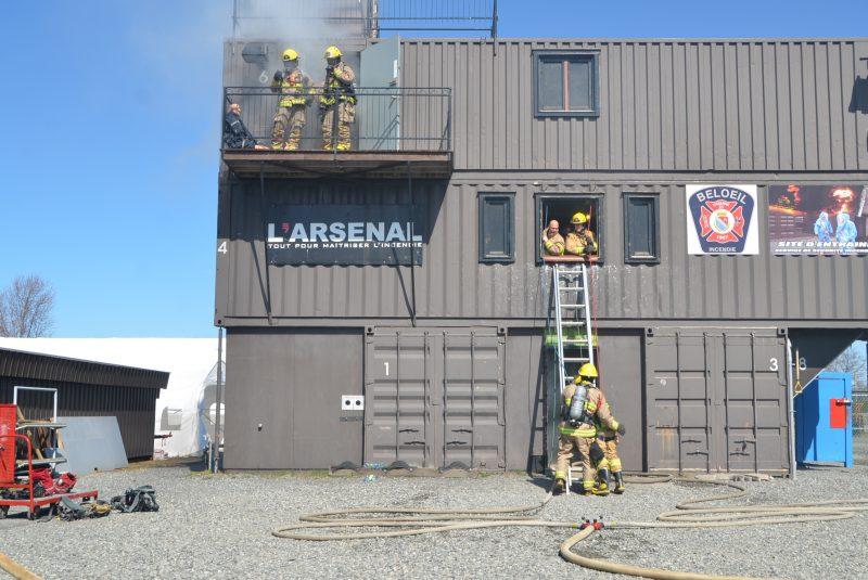 Le Centre de qualifications professionnelles était d'abord un projet pour maintenir les compétences des pompiers de Beloeil.
