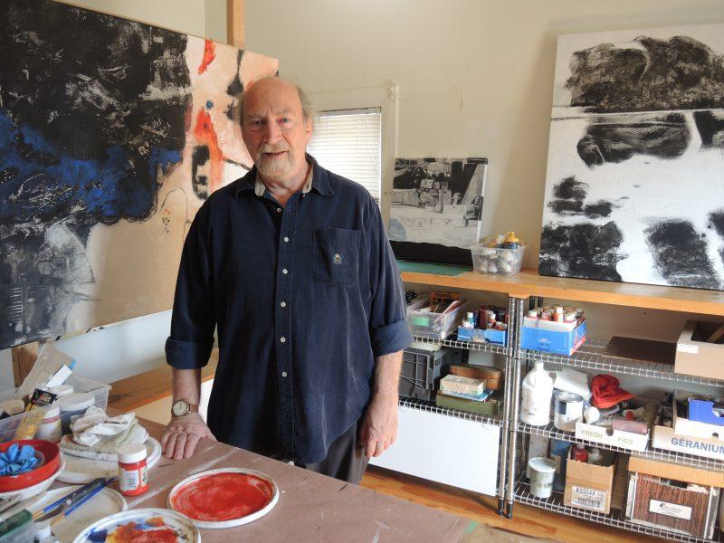 L'artiste Michel Varin d'Otterburn Park accueille le public chez lui où loge son atelier.