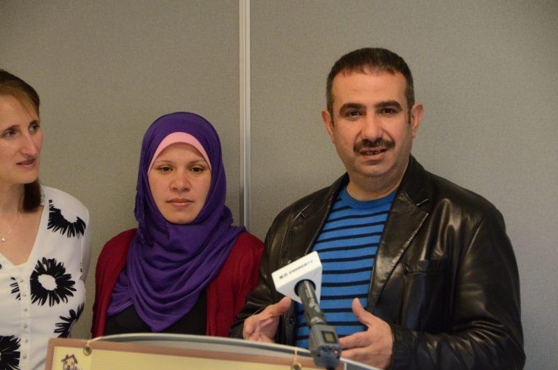 Muhamed et Malak Hac Gazi ont été jumelés à Robert Marquette et Lise Amyot.