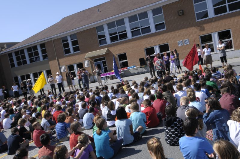 Une centaine d'élèves devront faire leur rentrée dans une nouvelle école.